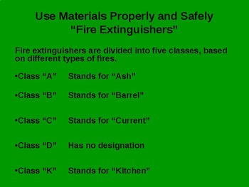 Promote a Safe Workplace (Fire Extinguisher)