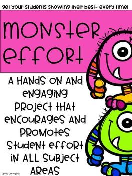 Promoting MONSTER Effort In The Classroom