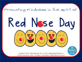 Promoting kindness in the spirit of Red Nose Day (FREEBIE)