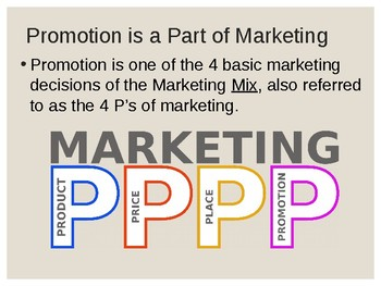 Promotion: Communication and Selling