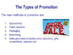 Promotion - The Marketing Mix - The 4 P's - PPT & Worksheet - Business Studies