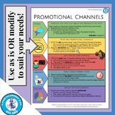 Promotional Channels HyperDoc