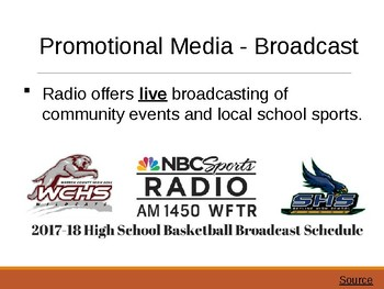 Promotional Media in Sports & Entertainment