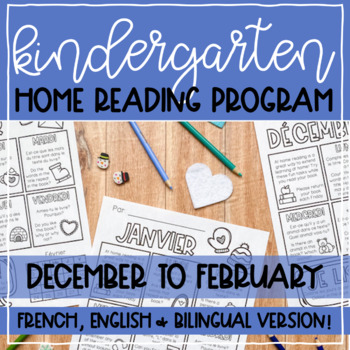 Prompt Based Home Reading Program in FRENCH // Simple homework SET TWO