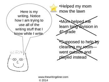 Prompt Practice - Helping Others from The Writing Diner