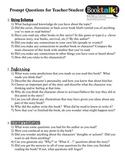 Prompt Questions for Teacher/Student preparation for Book Talks