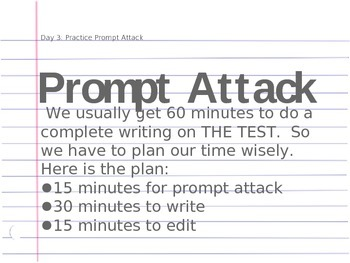 Prompt Writing (Prompt Attack Planning: Day 3)