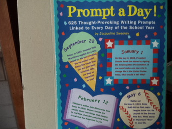 Prompt a Day! Thought Provoking writing PromptsISBN#0-590-18738-4