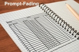 Prompt-fading Data Tracker