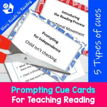 Prompting Cue Cards for Teaching Reading {Professional Tools}