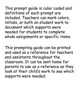 Documentation/Prompting Guide/Accommodations