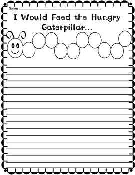 Writing Prompts  (Pre-K and K)