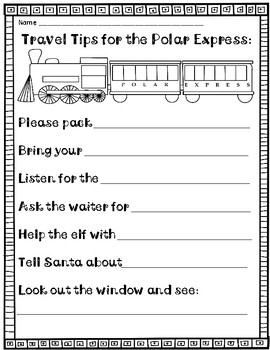 FREE!  Writing Prompts  (Pre-K and K)