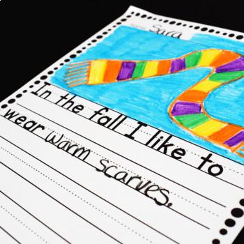 September Sentence Stem Writing Prompts