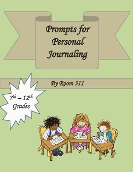 Prompts for Personal Journaling