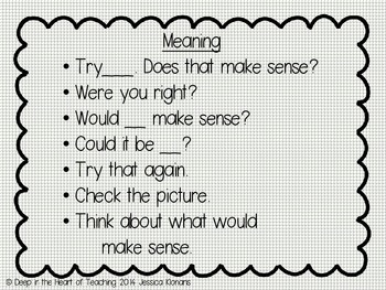 Prompts for Reading Strategies