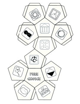 Prompts of Depth & Complexity: Literacy Response Menu and Dice