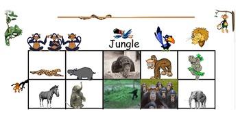 Promptz Wigglez Jungle Woodland and Ocean Creatures Animated Clip Art