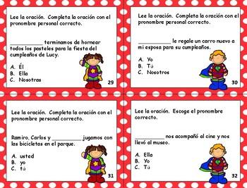 Pronombres - Gramática
