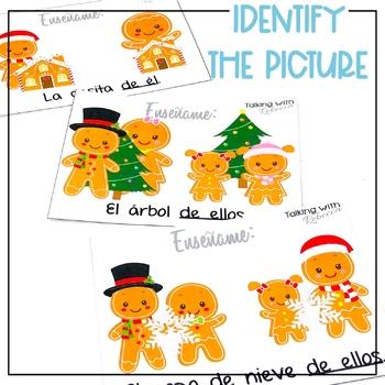 Pronombres de Gingerbread (Spanish Pronouns)