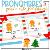 Spanish Pronouns Pronombres for Speech Therapy