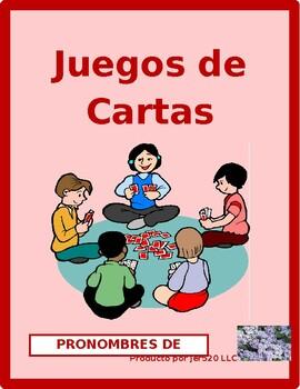 Pronombres de sujeto (Subject pronouns in Spanish) Concent