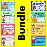 Pronombres, homografos, homofonos, analogias, lenguaje figurado, y mas..BUNDLE