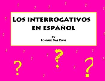 Spanish Interrogative  Words for the Interactive Board