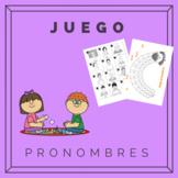 Pronombres juego / Pronouns game