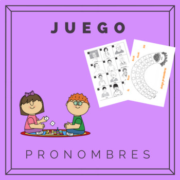 Pronombres juego / Pronouns game