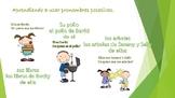 Pronombres y Sustantibos Posesivos