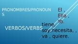 Pronombres y Verbos