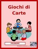 Pronomi personali (Subject Pronouns in Italian) Card Games