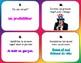 Pronoms Sujets Task Cards