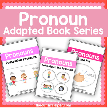 Pronoun Adapted Book Series