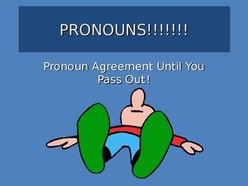 Pronoun Agreement Presentation