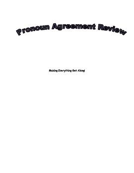 Pronoun Agreement Review