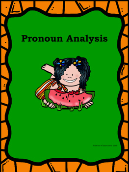Pronoun Identification for Middle School Students