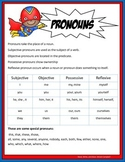 Pronoun Anchor Charts