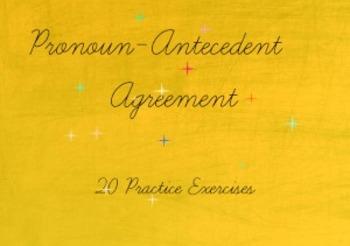 Pronoun-Antecedent Agreement