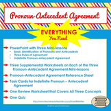Pronoun-Antecedent Agreement BUNDLE