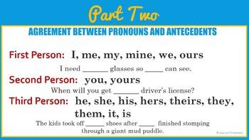 Pronoun-Antecedent Agreement BUNDLE