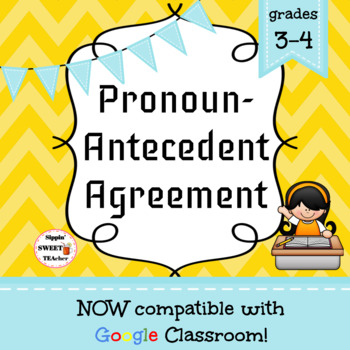 Pronoun-Antecedent Agreement Game/Sort Pack