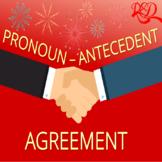 Pronoun Antecedent Agreement | ELA Test Prep | Worksheet P