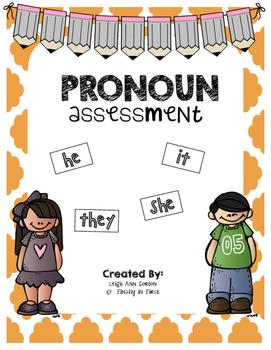 Pronoun Assessment