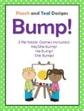 Pronoun BUMP! Speech and Language game for grammar, he/she