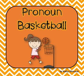 Pronouns (CCSS Language) -- A Language Smarboard Game