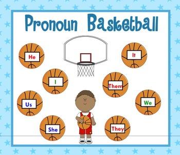 Pronoun Basketball Game