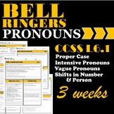 Pronoun Bell Ringers