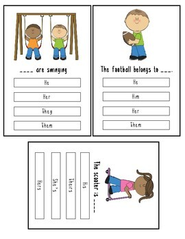 Pronoun Boards